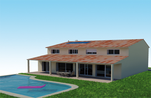 Creation maison 3d photos de conception de maison - Logiciel creation maison 3d ...